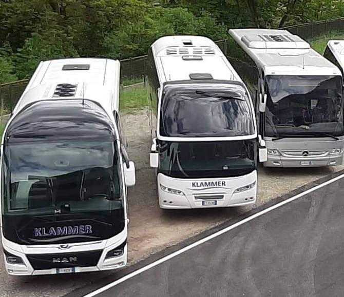 Noleggio autobus in Trentino